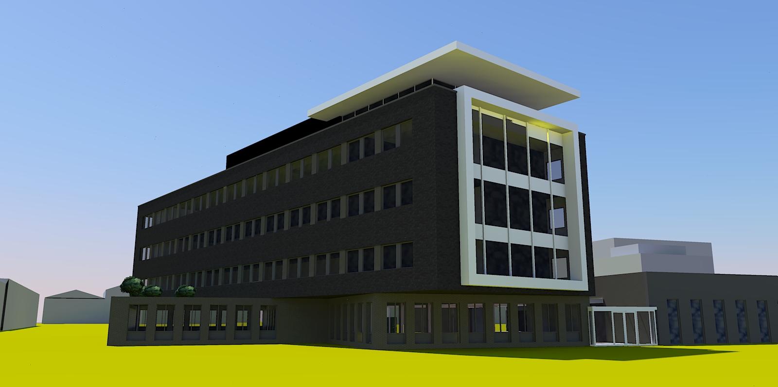 2018 Nieuwbouw kantoor 28 VO 1